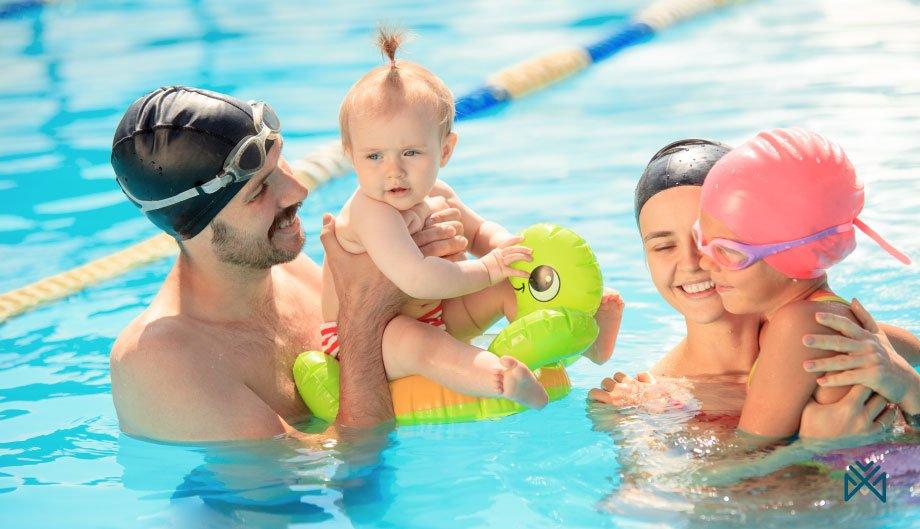 تعلم رياضة السباحة وفوائدها